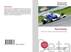 Bookcover of Paul Emery