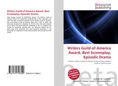 Borítókép a  Writers Guild of America Award, Best Screenplay, Episodic Drama - hoz