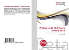 Couverture de Writers Guild of America Awards 1949
