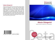 Capa do livro de Alexia (Sängerin)