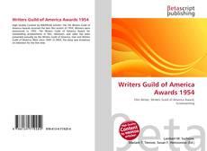 Borítókép a  Writers Guild of America Awards 1954 - hoz