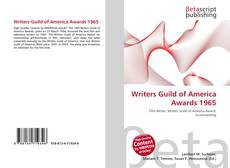 Borítókép a  Writers Guild of America Awards 1965 - hoz