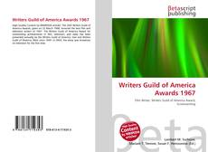 Couverture de Writers Guild of America Awards 1967