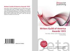 Borítókép a  Writers Guild of America Awards 1972 - hoz