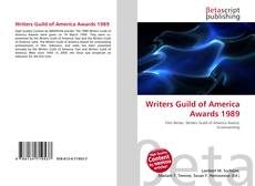 Couverture de Writers Guild of America Awards 1989