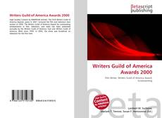 Borítókép a  Writers Guild of America Awards 2000 - hoz
