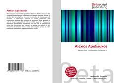 Bookcover of Alexios Apokaukos