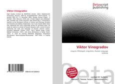 Buchcover von Viktor Vinogradov