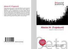 Bookcover of Alexios IV. (Trapezunt)
