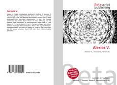 Bookcover of Alexios V.