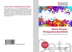 Alexis (Hessen-Philippsthal-Barchfeld)的封面