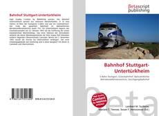Portada del libro de Bahnhof Stuttgart-Untertürkheim