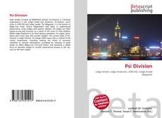Bookcover of Psi Division