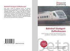 Copertina di Bahnhof Stuttgart-Zuffenhausen