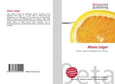 Buchcover von Alexis Léger