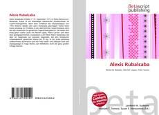 Bookcover of Alexis Rubalcaba