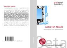 Couverture de Alexis von Roenne