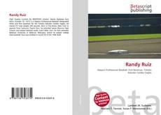 Portada del libro de Randy Ruiz