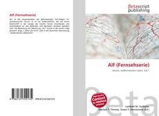 Capa do livro de Alf (Fernsehserie)
