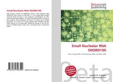 Couverture de Small Nucleolar RNA SNORD100