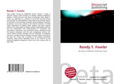 Bookcover of Randy T. Fowler
