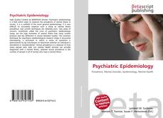 Bookcover of Psychiatric Epidemiology