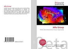 Alfa Group kitap kapağı