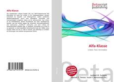 Buchcover von Alfa-Klasse