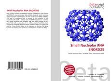 Couverture de Small Nucleolar RNA SNORD25