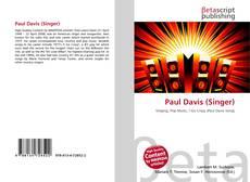 Bookcover of Paul Davis (Singer)
