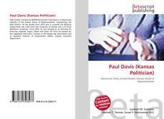 Bookcover of Paul Davis (Kansas Politician)