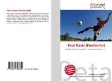 Bookcover of Paul Davis (Footballer)