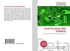 Buchcover von Small Nucleolar RNA SNORD30