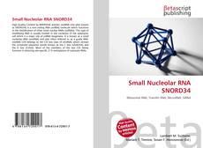 Couverture de Small Nucleolar RNA SNORD34