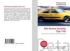 Borítókép a  Alfa Romeo Giulietta (Typ 116) - hoz