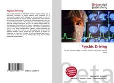 Psychic Driving kitap kapağı