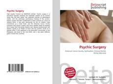 Psychic Surgery kitap kapağı