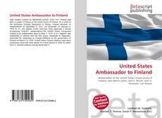Обложка United States Ambassador to Finland