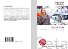 Psychic Cost kitap kapağı