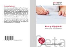 Bookcover of Randy Wigginton