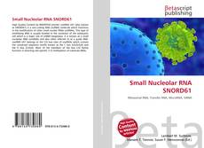 Couverture de Small Nucleolar RNA SNORD61