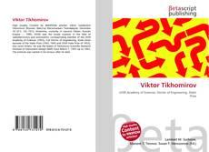 Viktor Tikhomirov kitap kapağı