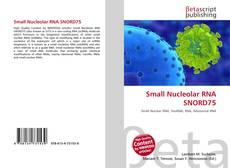 Couverture de Small Nucleolar RNA SNORD75