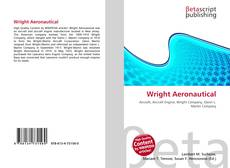 Bookcover of Wright Aeronautical