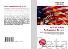 Couverture de United States Ambassador to Iran