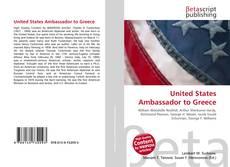 Portada del libro de United States Ambassador to Greece