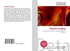 Обложка Psycho Surgery