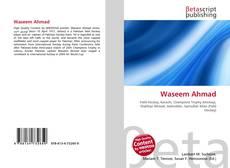 Waseem Ahmad的封面