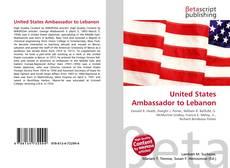 Bookcover of United States Ambassador to Lebanon