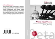Buchcover von Alfons Fleischmann